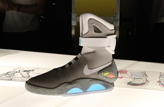 ad9b5204a9696 exactly fit nike air mag aka marty mcfly black newest