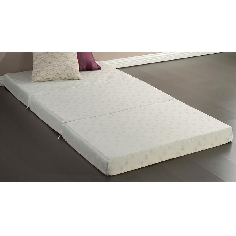 Axondirect Twin Size 4 Inch Thick Memory Foam Guest Bed Mat