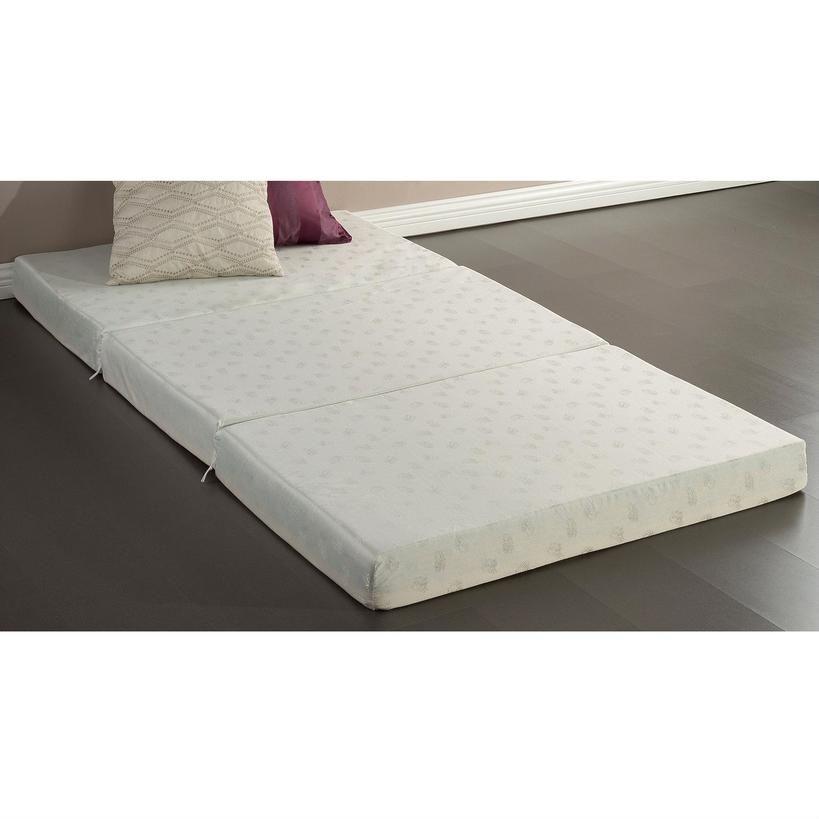 Axondirect Twin Size 4 Inch Thick Memory Foam Guest Bed Mat Folding Mattress Foam Mattress Bed Comfort Mattress Folding Mattress