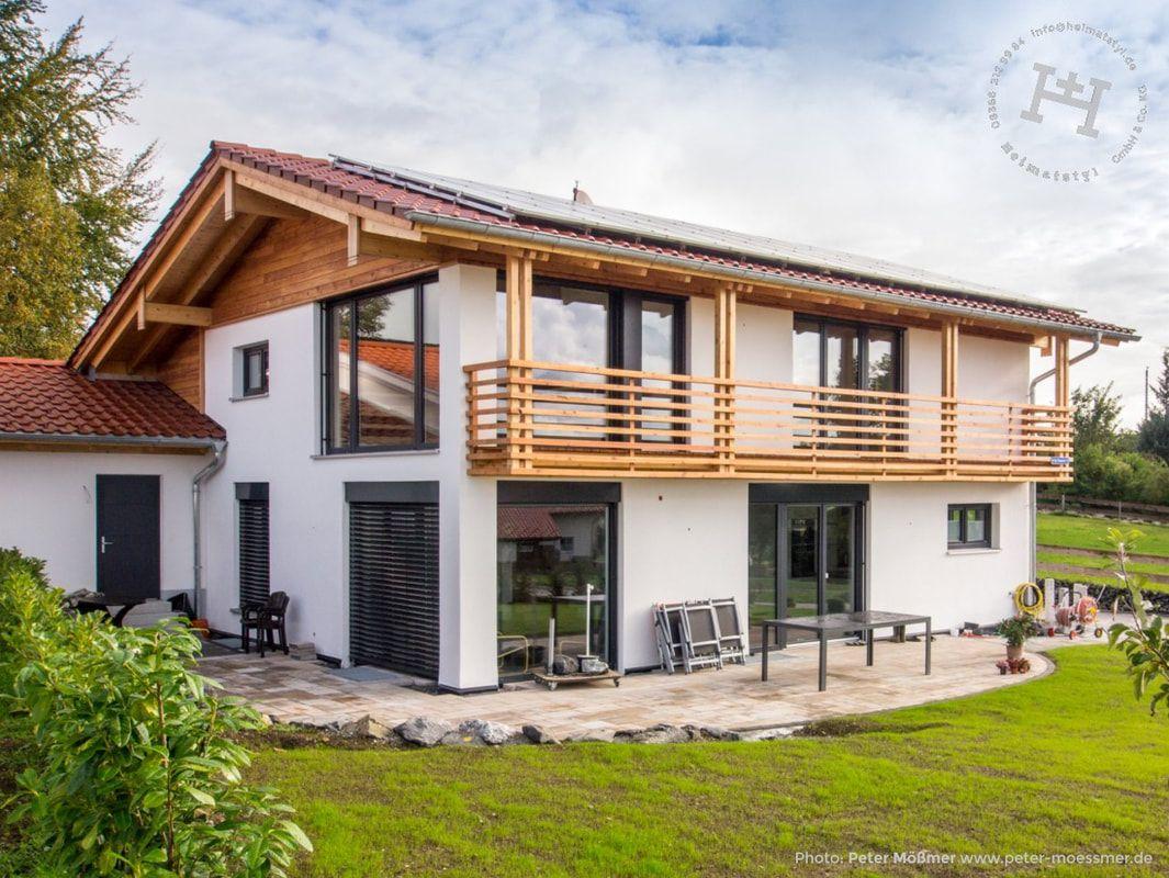 Heimatstyl - STYL - Heimatstyl Massivholzhaus #arquitectonico