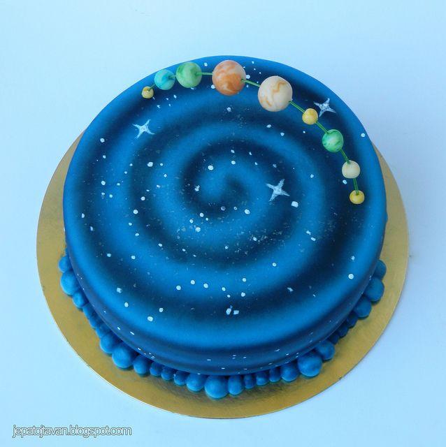 Universe Cake Galaxy Cake Planet Cake Cake