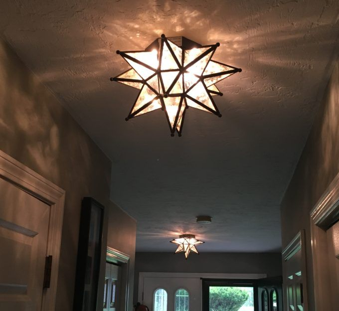 Ballard designs moravian star light flush mount lightingflush mount ceiling