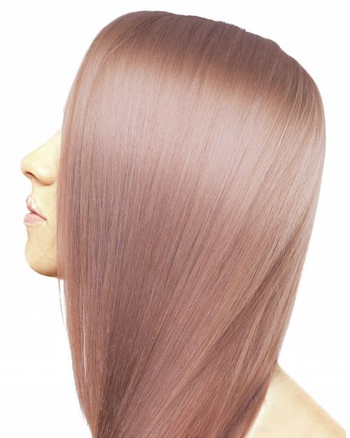 Very Light Violet Ash Blonde Semi Permanent Hair Color Light