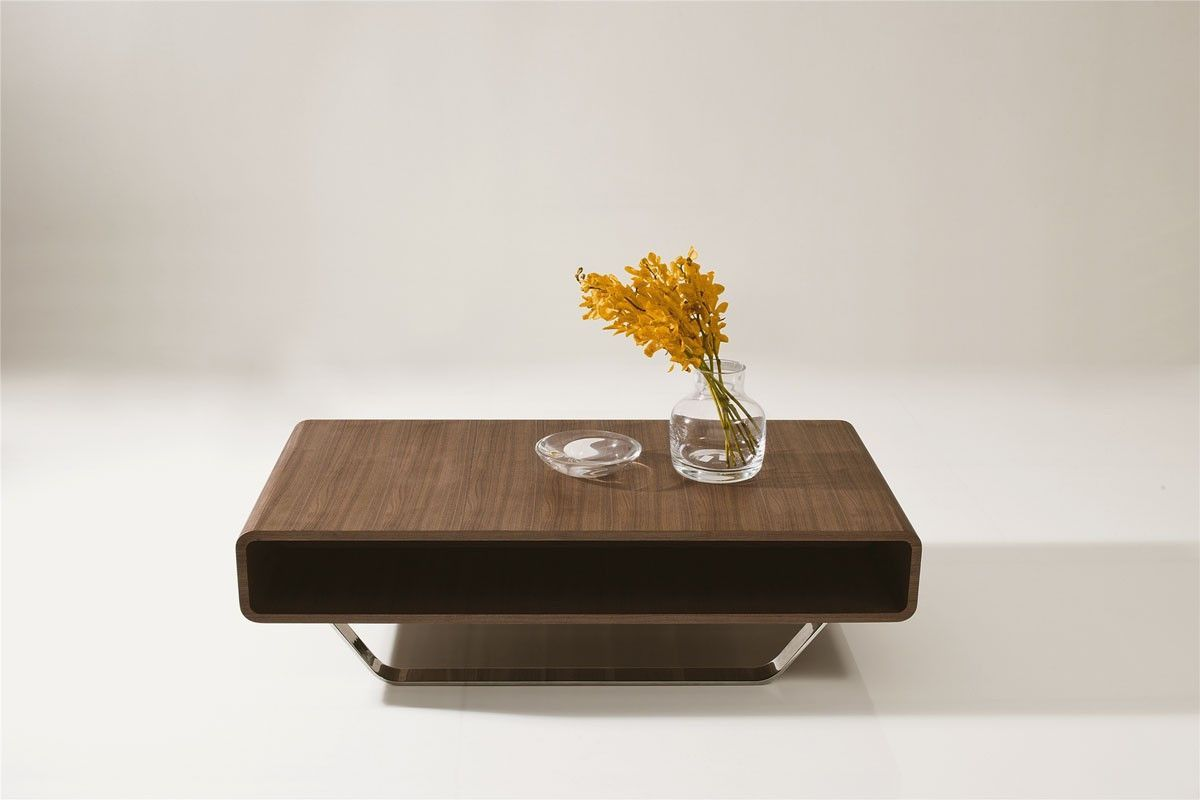 The Soft Curved Edges Of The Avis Walnut Coffee Table Creates A Safer Living Environm Walnut Coffee Table Modern Coffee Table With Shelf Coffee Table Rectangle [ 800 x 1200 Pixel ]