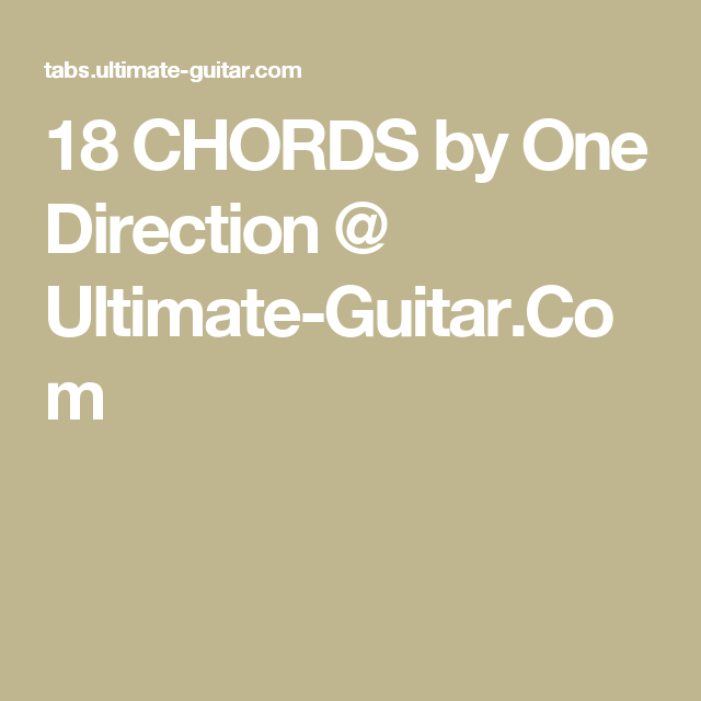 18 Chords Images Chord Chart Guitar Complete