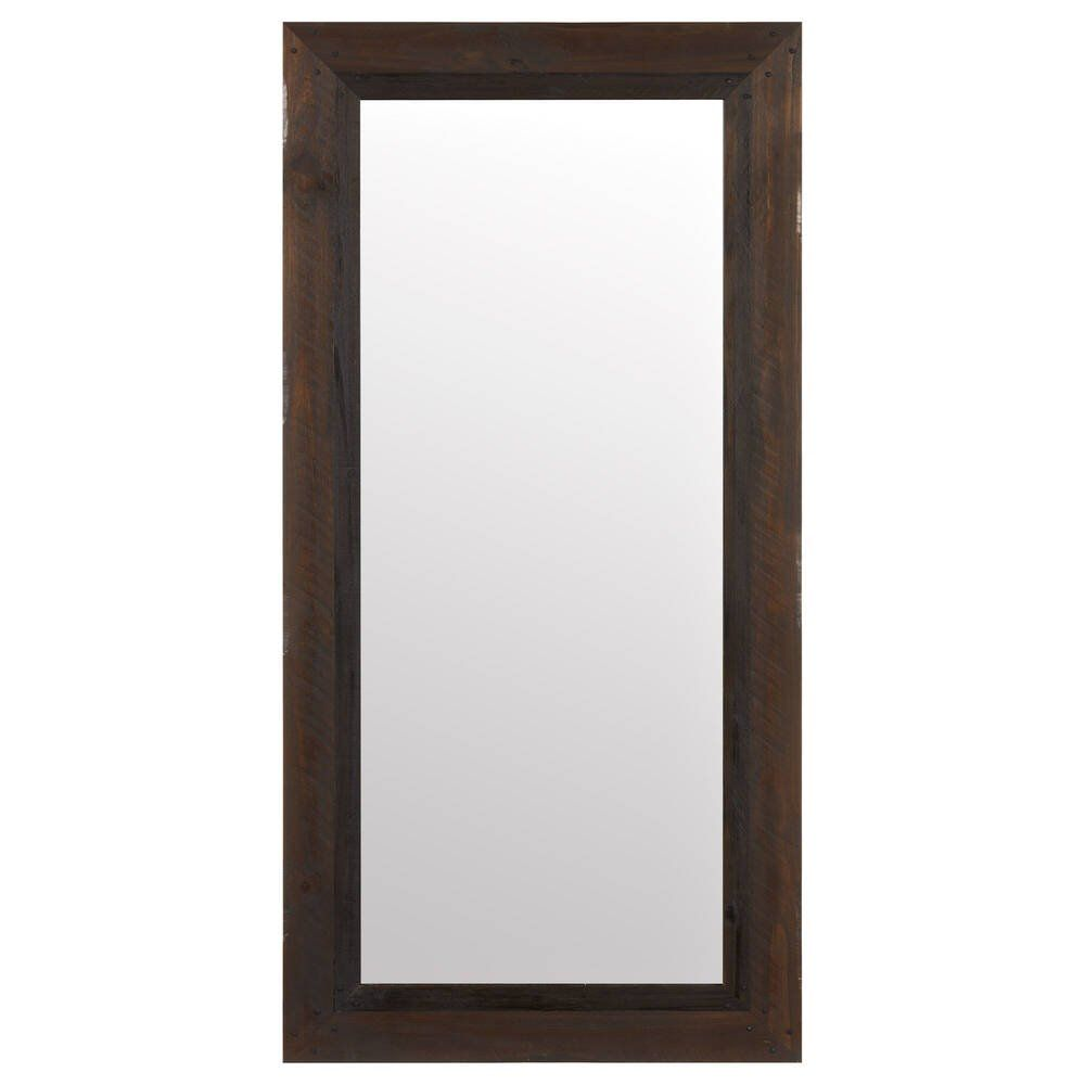 Photo of Barn Wood Framed Mirror | Brown | Bouclair