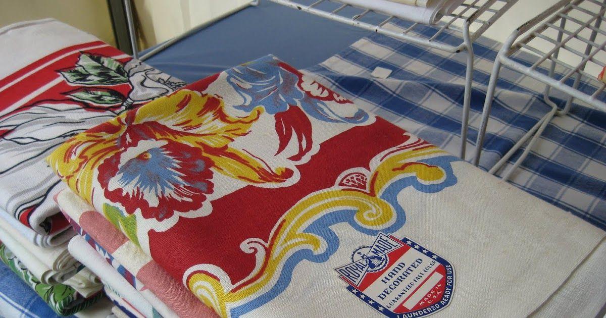 How Do I Clean Vintage Tablecloths? Vintage tablecloths