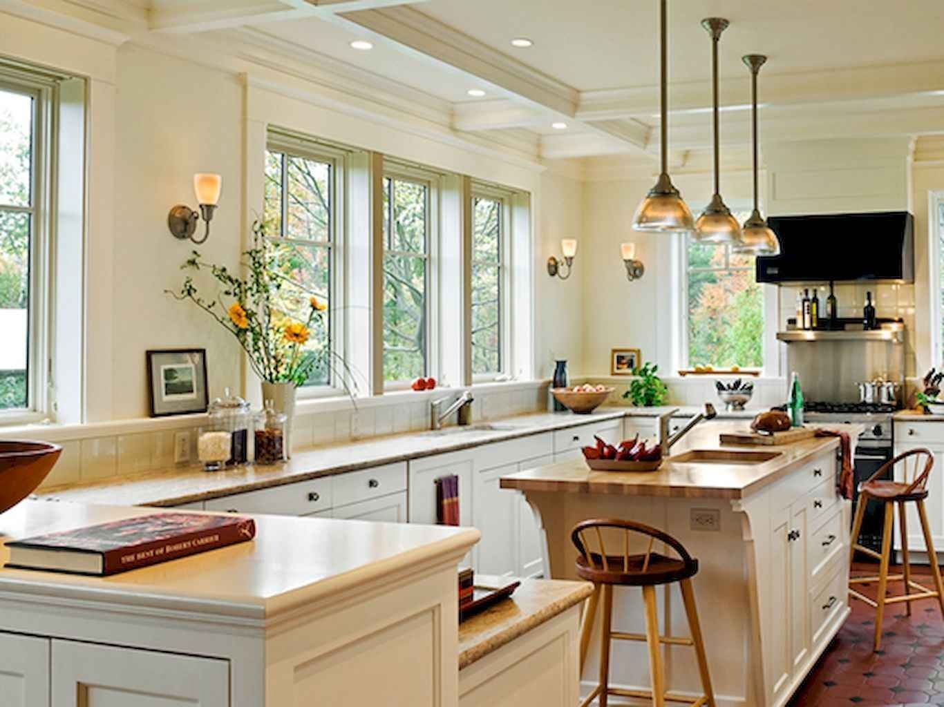 80 Modern Farmhouse Kitchen Lighting Decor Ideas and Remodel 36 kitchen #80 #modern #farmhouse #kitchen #lighting #decor #ideas #and #remodel #36