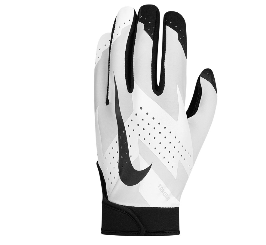 Brand New Nike Mens' Torque 2.0 Football Gloves - CHOOSE SIZE  (#311915076557) - Sporting Goods > Team Sports > Football > Clothing, Shoes  & Accessories > ...