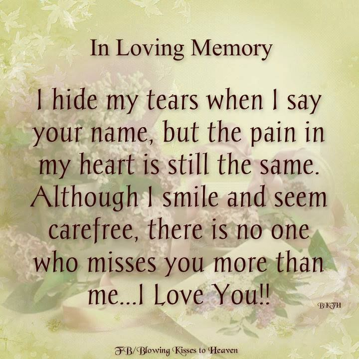 Memory Quotes Images: In Loving Memory Pictures, Photos, And Images For Facebook
