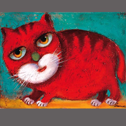 Mehr Naive Malerei Joseb Smoktun Naive Malerei Katzen Kunst Malerei