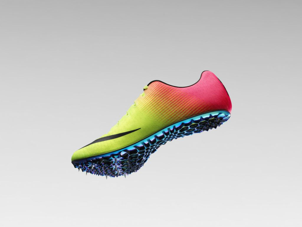 Check Out Nike's Crazy New Machine-Designed Track Shoe