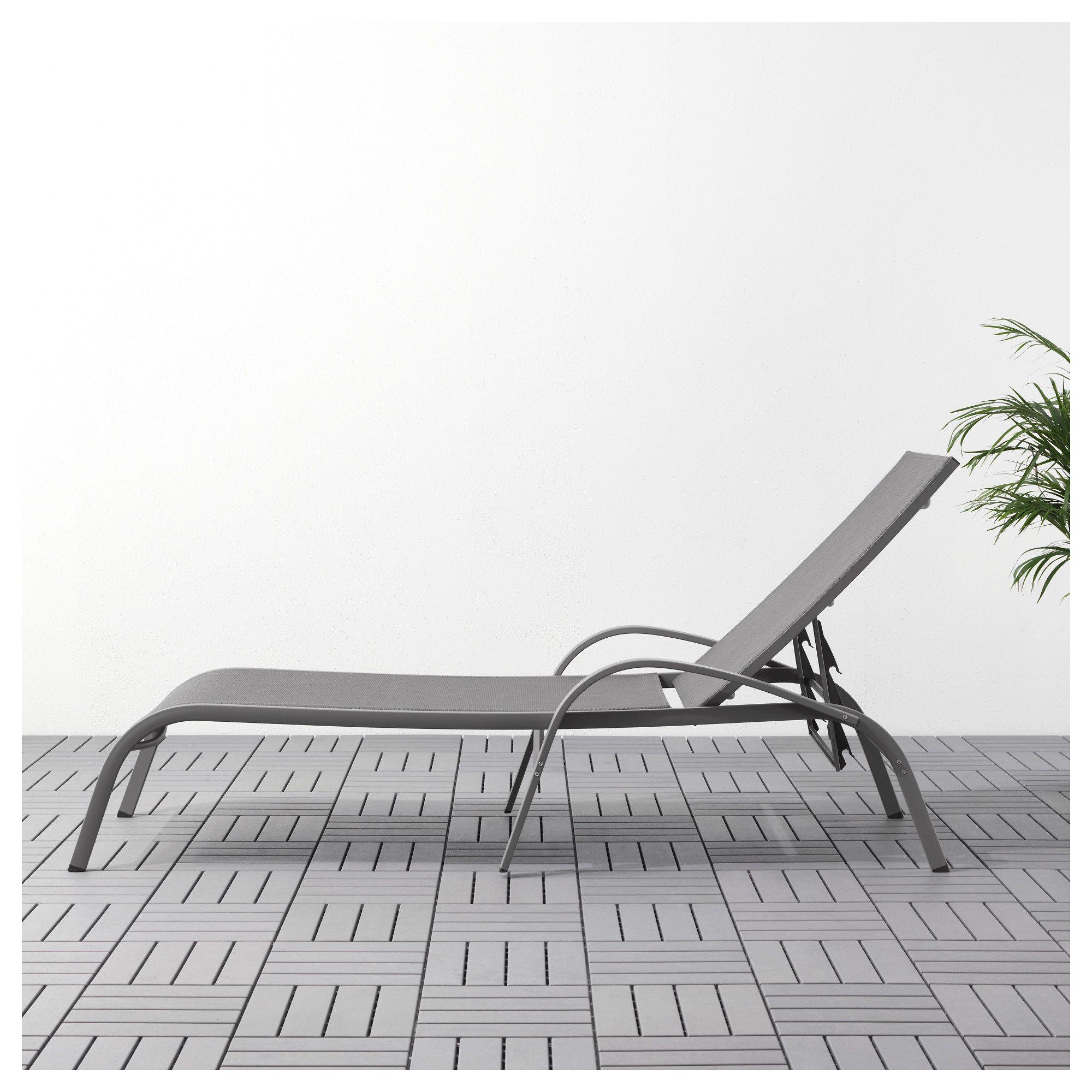 Torholmen Lezaljka Siva Chaise Lounger Ikea Chaise