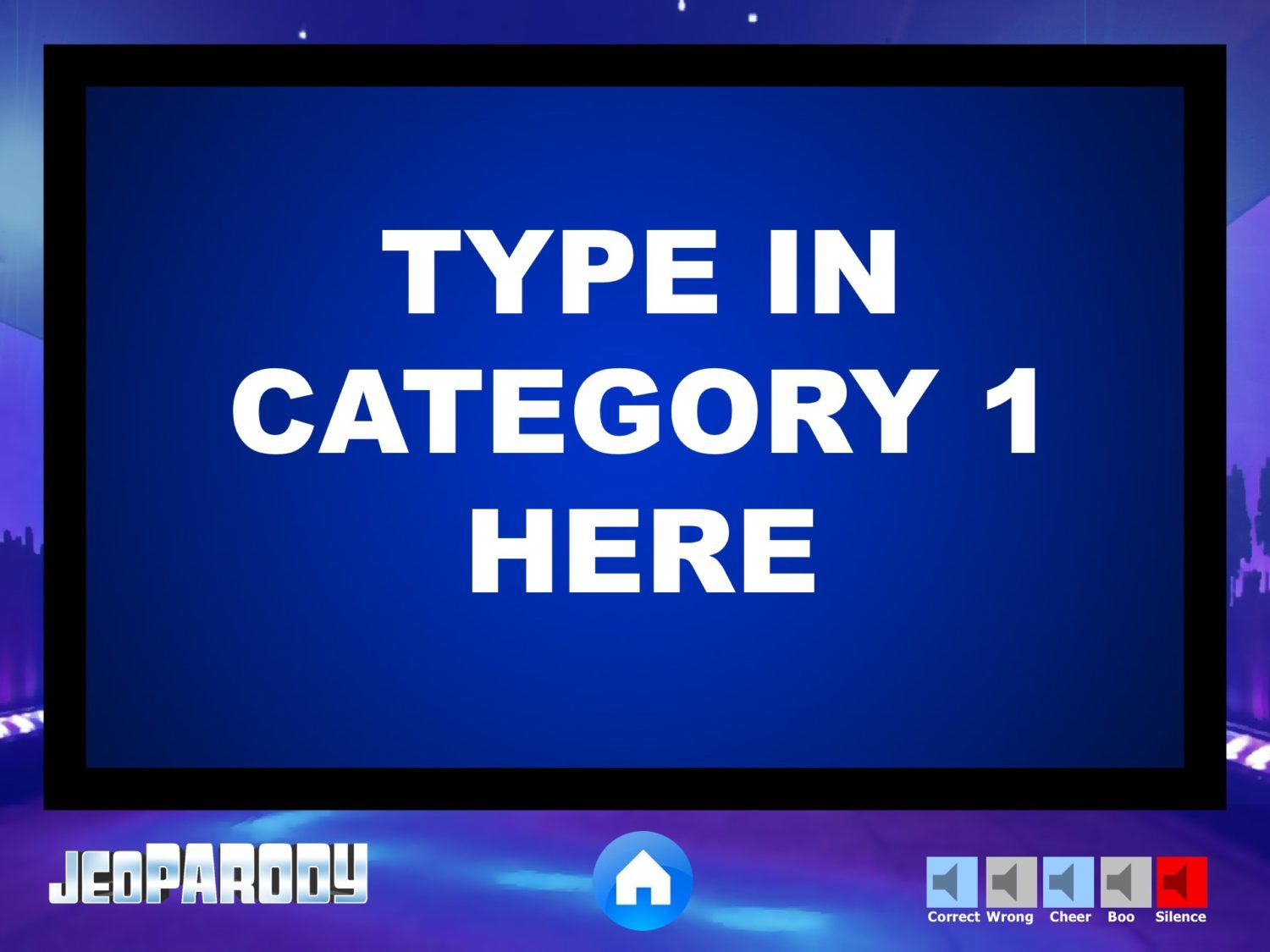 Fully Editable Jeopardy Powerpoint Template Game With Daily Doubles Final Jeopardy Theme M Jeopardy Powerpoint Template Jeopardy Template Jeopardy Powerpoint