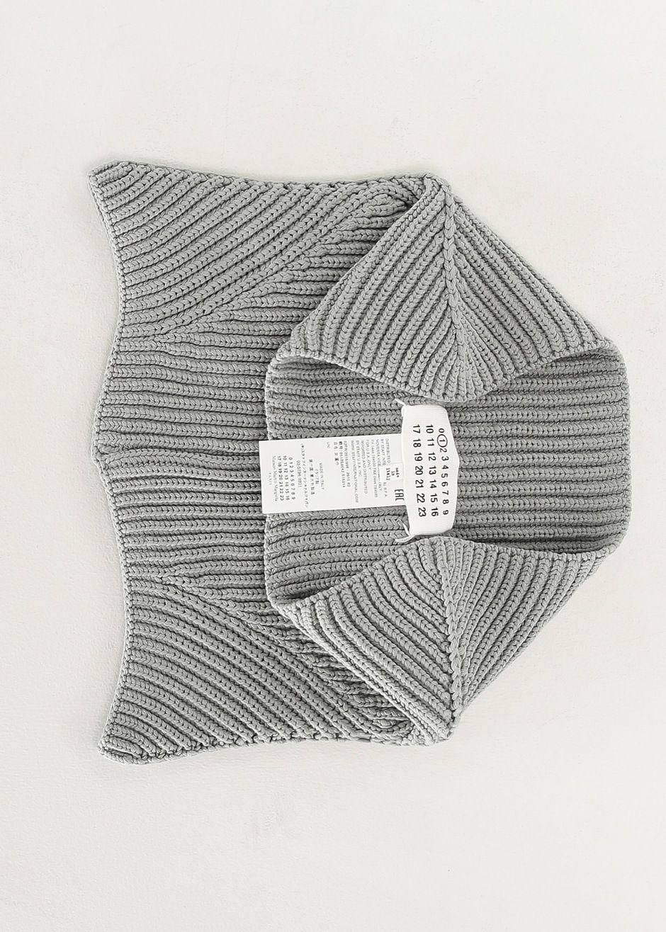 Maison Martin Margiela Knit Scarf Collar (Grey)