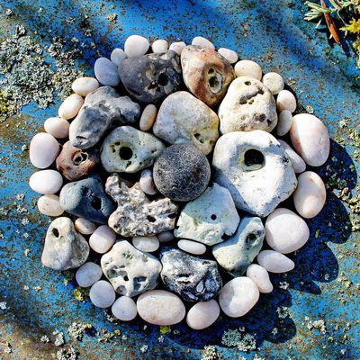 Bewegende Steine