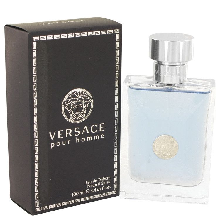 Versace Pour Homme Cologne by Versace, An exciting and modern twist on a classic aromatic/fougere for men, this masculine contemporary scent was created by master perfumer alberto morillas. Top notes are citruses, neroli, bergamot and petit grain; middle notes are hyacinth, clary sage, cedar and geranium; base notes are tonka bean, musk and amber.All products are original, authentic name brands. We do not sell knockoffs or imitations. | Shop this product here: spreesy.com/cuzskyesaidso/60…