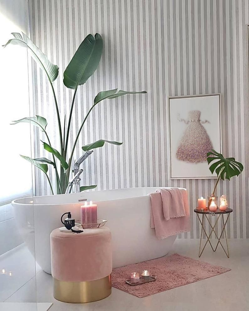 Miss Dior Flower Dress Print, Dior Blush Pink Floral Dress Poster, Flower Power Dress Wall Art, Light Pink Fashion Decor, White ribbon dress