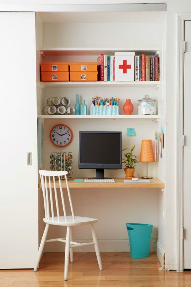 turn closet home office. 10 Ways To Turn Your Closet Into An Office Home N