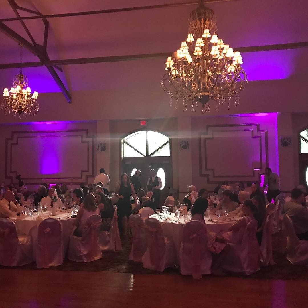 Uplighting can change the whole mood of your room and add so much detail to your pictures. Just look at what this purple lighting does to this room from last night. #bliss #wedding #firstdance #celebrate #ido #guests #music #flowers #party #mrandmrs #justmarried #marryme #love #happycouple #bridalparty  #newlyweds #soulmates #reception #thebigday #bride #groom #forever #kissthebride #toast #hitched #headoverheels http://gelinshop.com/ipost/1524758596180775176/?code=BUpB91dlBEI