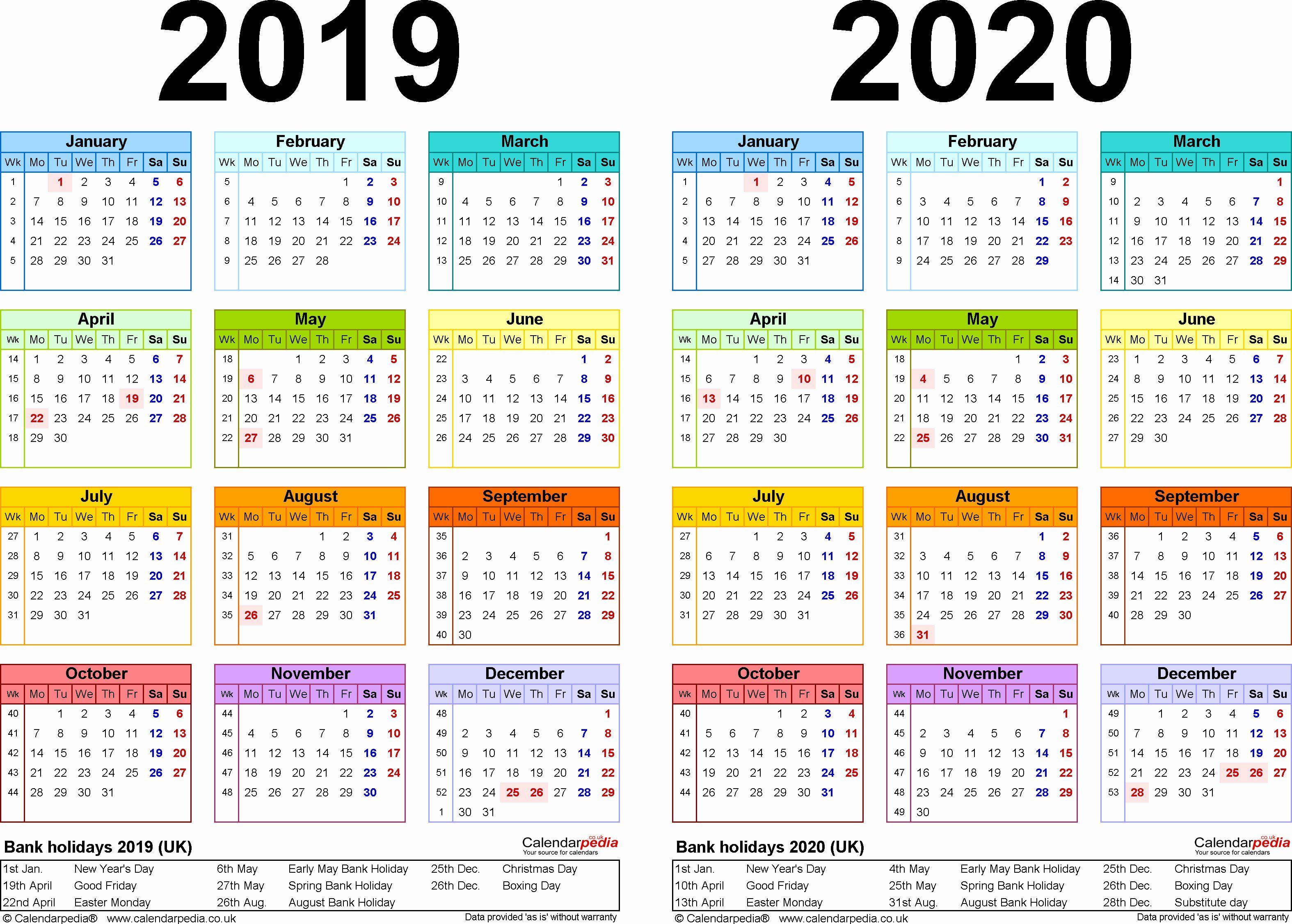 2019 Biweekly Payroll Calendar Excel Inspirational 2019 Excel Spreadsheet Biweekly Pay Schedule Shyampooja In 2020 Excel Calendar Calendar Template Print Calendar