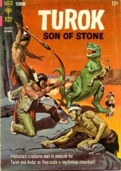 Turok Son Of Stone Covers Classic Comic Books Comics Comic Books Art