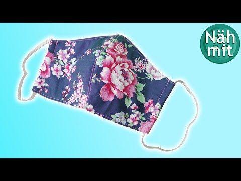Coudre un masque en tissu: masque en restes de tissu | facile | patron de couture gratuit | Cousez avec moi!   – Kreativ