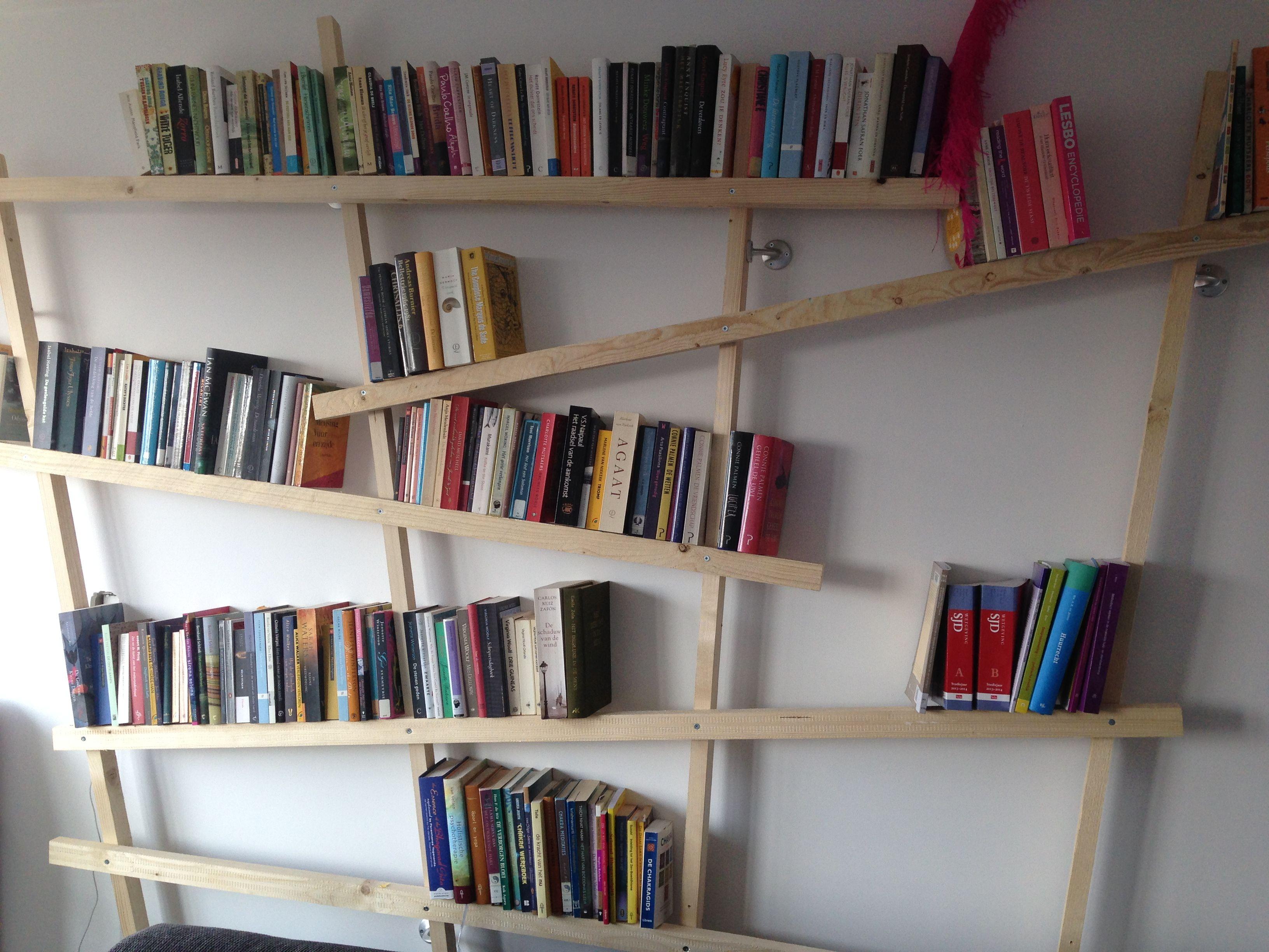 Homemade boekenkast #diy | REFERENCIAS | Pinterest