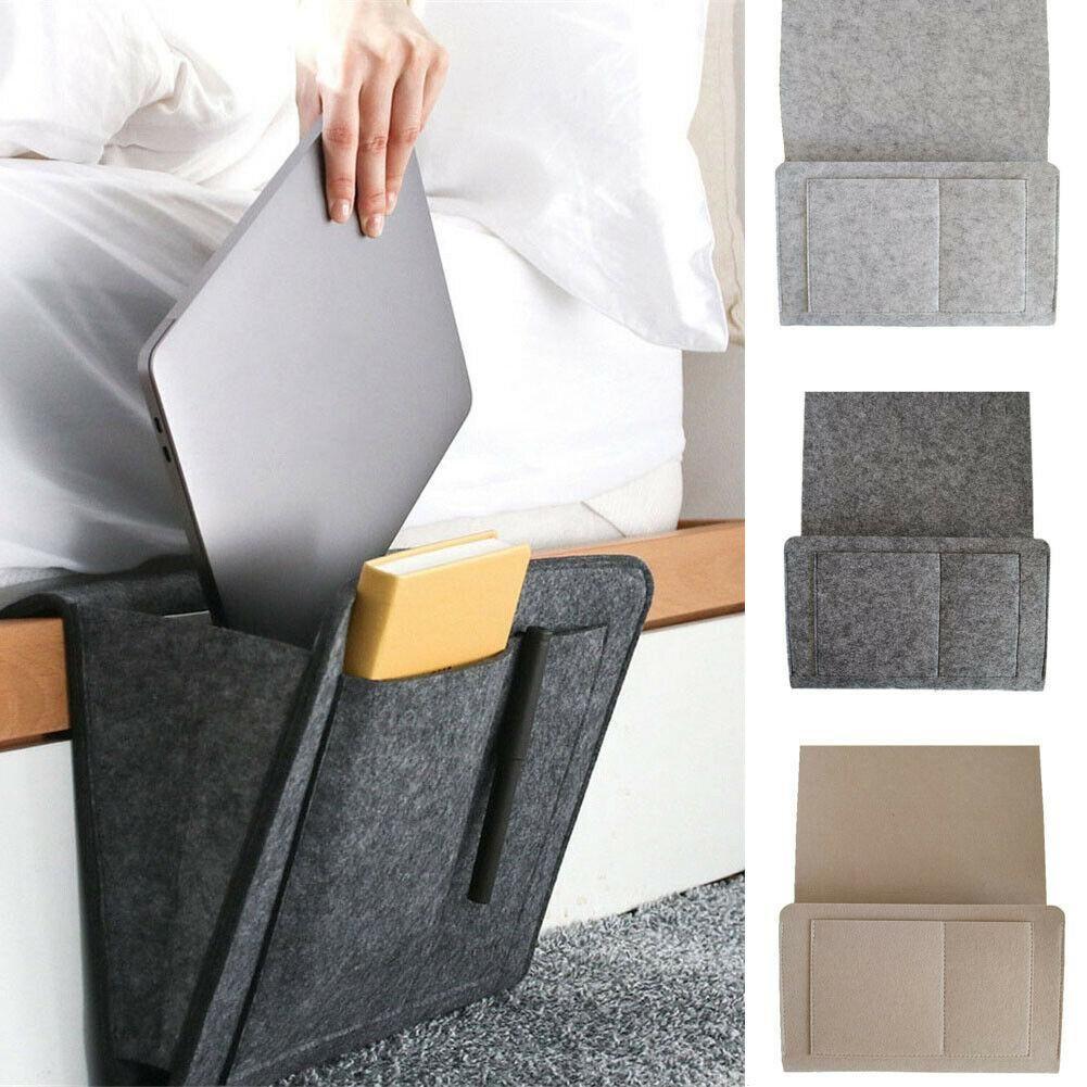 Filz Bettaufhanger Organizer Fur Bett Sofa Schreibtisch In 2020