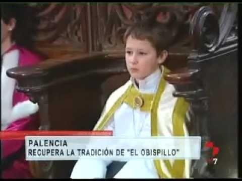 Palencia recupera la tradición del 'Obispillo' -