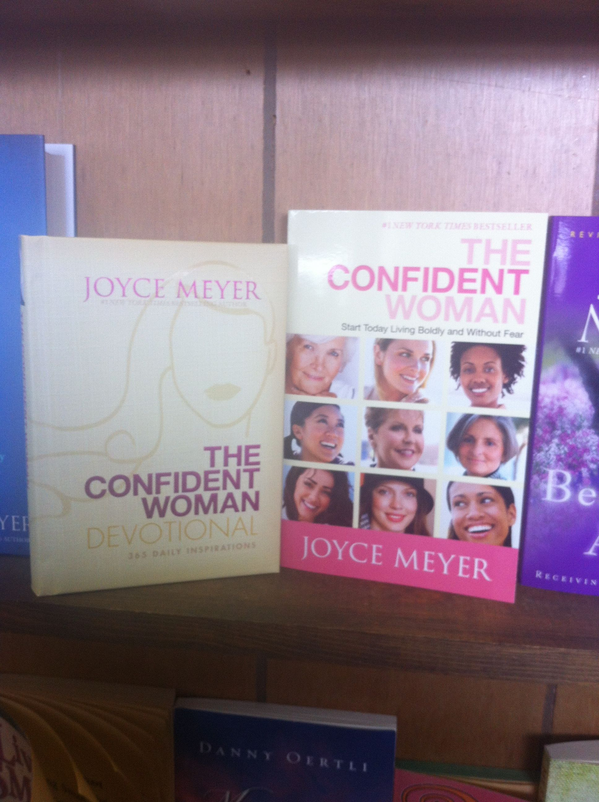 The Confident Woman Book And Devotional From Joyce Meyer Now