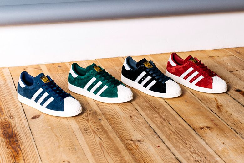 Adidas Originals Superstar – SUEDE PACK (con imágenes