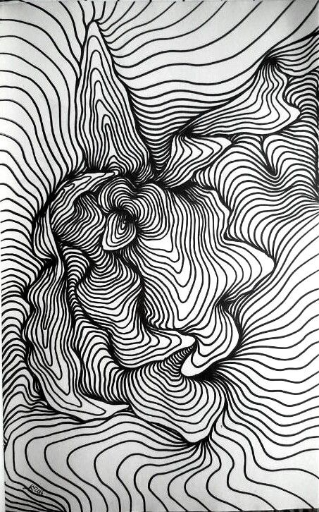 How To Do Line Design Art : Line lines draw graphics drawing abstraction abstract