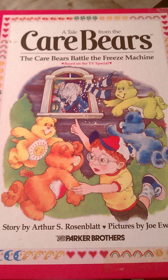 Vintage 1983 Care Bears book Battle of the by FlowerChildTrends