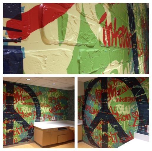 Elite Sign Design Llc 5181 69th St Ste 200 Lubbock Tx 79424 O 806 368 3643 Www Elitesigndesign Com Covenant Hospital Wall Graphics Mural Vinyl