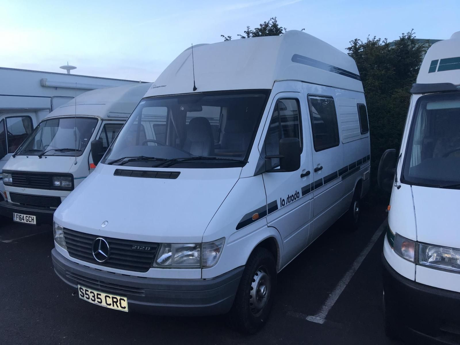 1998 LA STRADA REGENT MERCEDES BENZ SPRINTER 212D 2.9 MANUAL | eBay