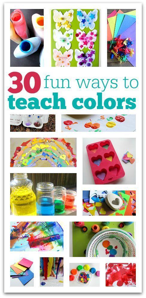 30 fun ways to teach colors color activities activities and preschool colors. Black Bedroom Furniture Sets. Home Design Ideas