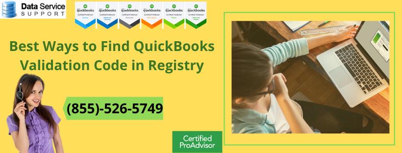 Quickbooks Validation Code 2020