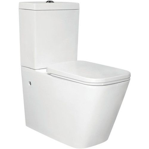Chao Close Coupled Toilet With Soft Close Seat Close Coupled Toilets Bathroom Top Back To Wall Toilets