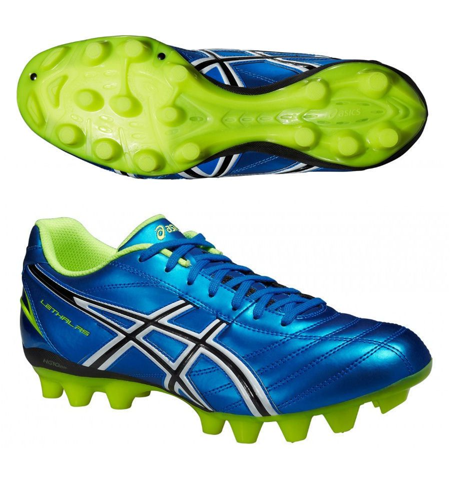 New Asics Lethal RS Rugby Boots Moulded Studs for hard ground Snr Sizes 6 -  14 b723ca260fea