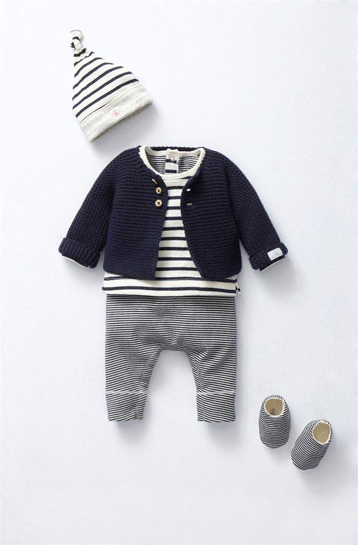 Photo of Vetements naissance de marque Petit Bateau : layette bébé, kit bodies, dors bien, gigoteuses, …