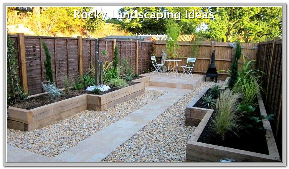 Simple Way To Make The Most Of Your Landscape Landscaping Lovers Low Maintenance Garden Design Small Backyard Landscaping Backyard Landscaping Designs