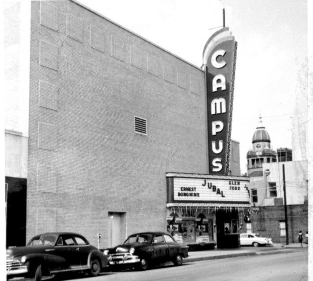 Campus Theatre way back when | Denton texas, Denton, Denton county