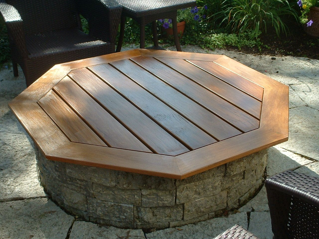 fire pit table cover
