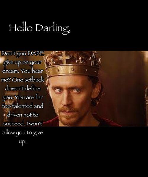 Hello Darling,...
