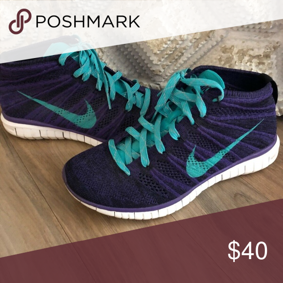 buy online 52ed3 9e551 Women s Nike Flyknit Chukka- vintage7.5 women great condition- vintage one  of a kind. Nike Shoes
