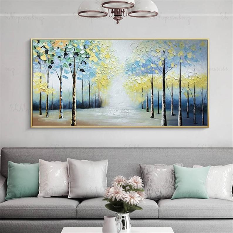 Abstract Paintings Canvas Wall Art Pictures For Living Room Etsy In 2020 Abstract Canvas Painting Canvas Wall Art Living Room Wall Canvas #paintings #for #decoration #in #living #room