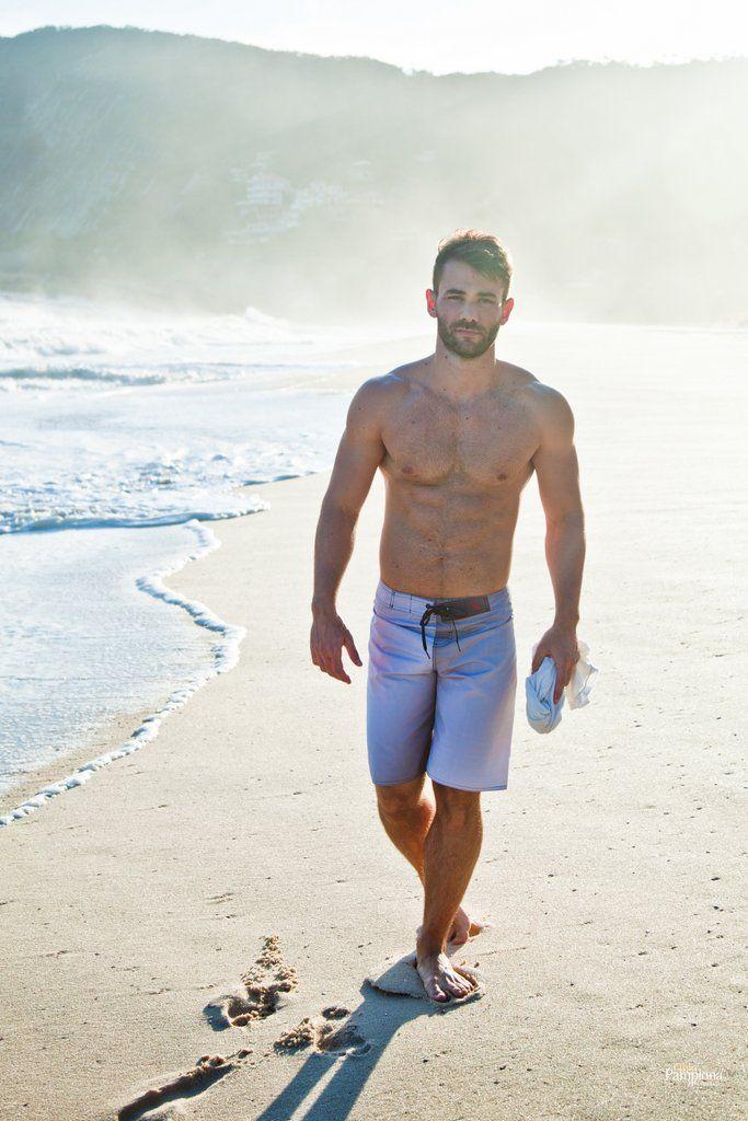 Very pity Hairy men walking beach