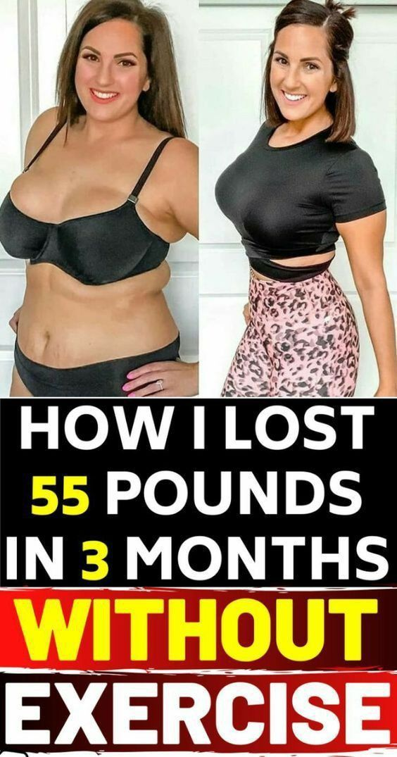 How I Lost 55 Pounds In 3 months Without Exercise