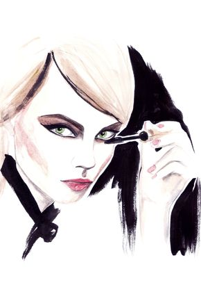 Modeconnect.com - Fashion Illustration by Louise O'Keeffe
